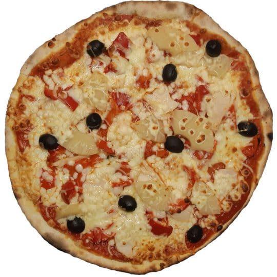 Pizza Hawaïenne livraison Royan et St Georges de Didonne