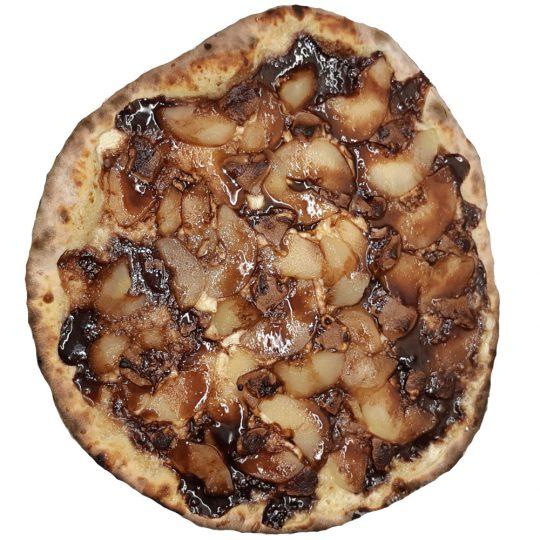 Pizza Poire Chocolat livraison Royan et St Georges de Didonne